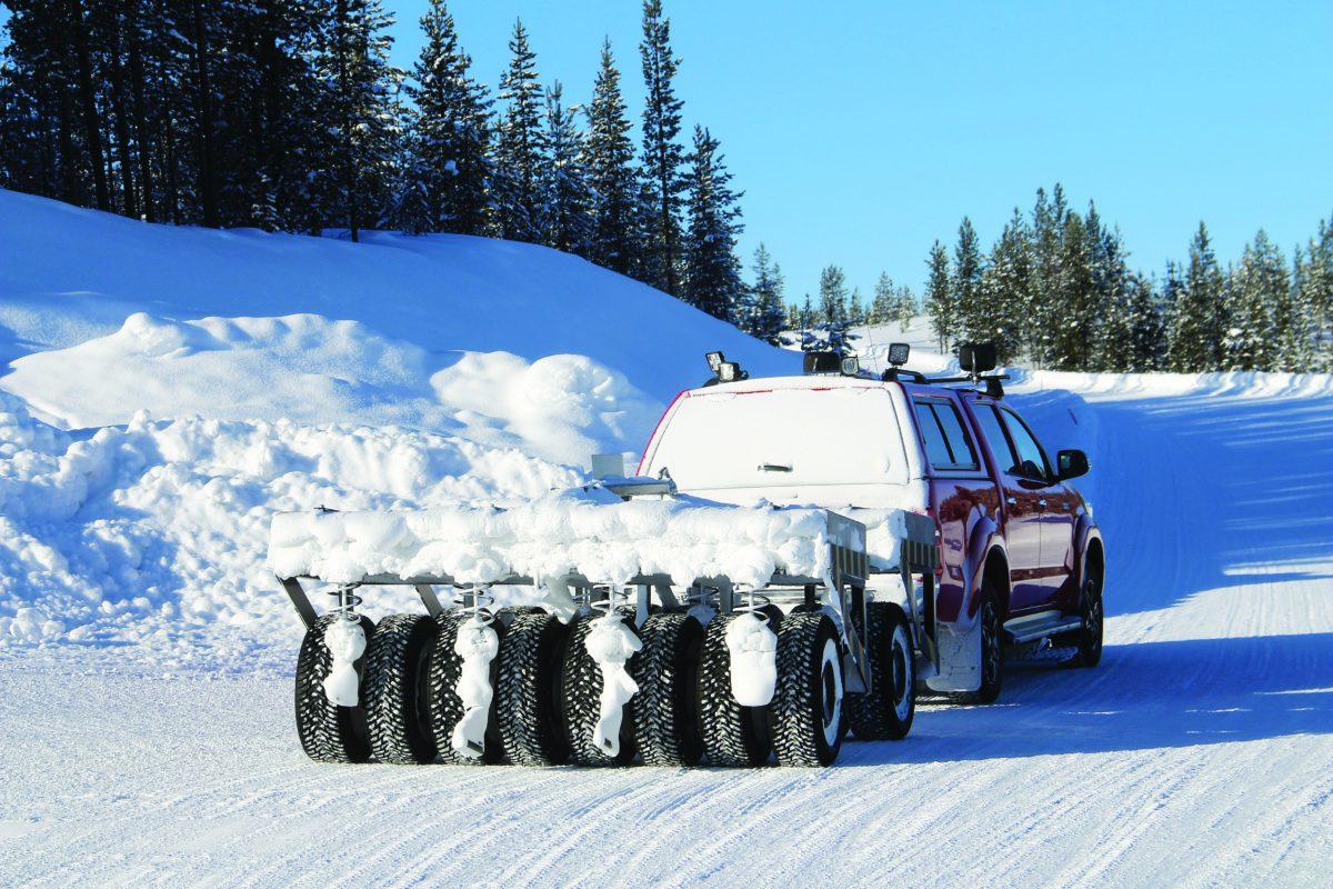 Состав зимних автошин